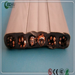 Construction Elevator Cable 24*0.75mm Bare Cooper and PVC Insulation VDE and CE Certification