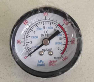 Y50 Iron Case Pressure Gauge pictures & photos