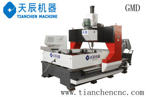 CNC Dual-Worktable Gantry Movable Plate Drilling Machine Model Gmd1610 pictures & photos