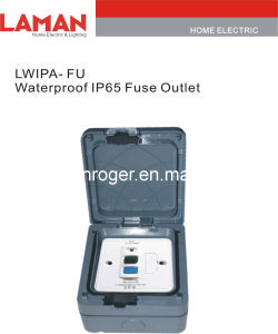 LWIPA-FU  IP65 Waterproof Fuse Socket Outlet