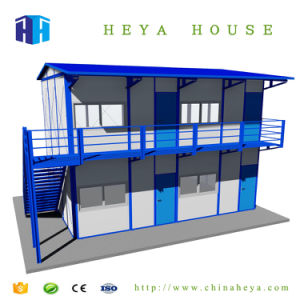Cheap Modern Prefabricated PVC Steel Frame House Prices in Sudan