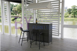 European and American Style High Foot Rattan Combined Furniture