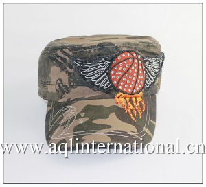 f8c5514c Custom Vintage Camo Military Hat Camouflage Army Military Cap Rhinestone  Embroidery Patch Military Hat