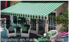 PVC Laminated Tarpaulin Waterproof Fabric Sunshade (500dx300d 18X12 300g) pictures & photos