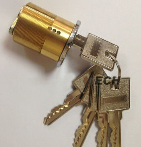 Made in China Hardware American Brass Cylinder Lock (MLE021)