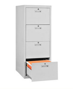 4 Drawer Vertical Lockable Filing Cabinets pictures & photos