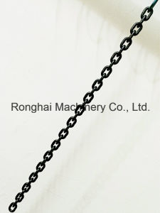 Grade 100 / 5mm*15mm Lifting Chain / 25CrNiMo / Chinese Standard /Black Oxide