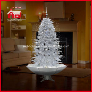Snowing Christmas Tree.2 1m White Snowing Christmas Tree Xmas Decoration With Music Led