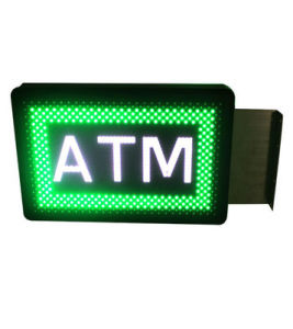 Animated ATM Sign Lighting Sign Board LED Display