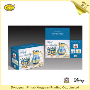 Custom Printing Packaging Color Box for Tea Set (JHXY-PP0058)