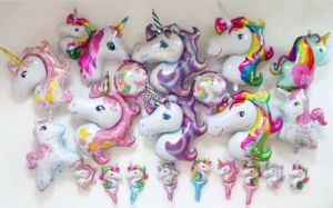Nice Price Cartoon & Character & Animal & Unicorn Helium Foil Mylar Balloons