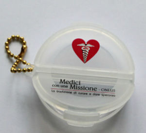 Newest Arrival Pill Box Keychain pictures & photos