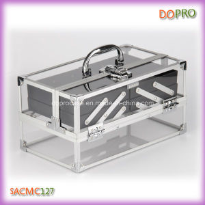 66a3ea373 China Elegant Rectangular Professional Clear Acrylic Makeup Train Case  (SACMC127) - China Clear Acrylic Makeup Train Case, Makeup Train Case