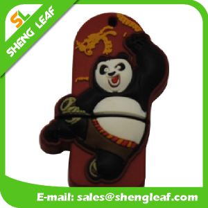 Promotional Gifts 3D Rubber Customized PVC USB Flash Drives (SLF-RU025)