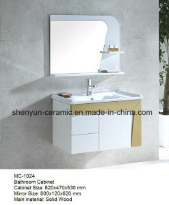 Bathroom Furniture Bathroom Cabinet with Wash Basin (MC-1024) pictures & photos
