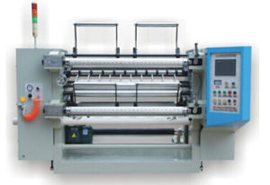 Touch Screen Slitting and Rewinding Machine / Top-Class BOPP Tape Slitting Machine