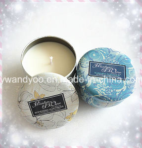 Luxury Scented Soy Candle in Tin