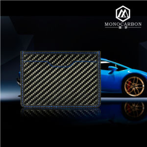 Colorful Stitching Selective Carbon Fiber Fashion Wallet Cool Men pictures & photos