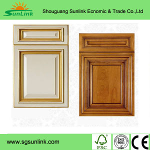 2017 New Glossy Fiber Acrylic Kitchen Cabinet Door pictures & photos