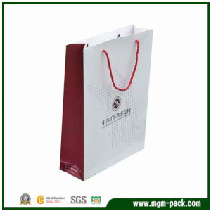 Good Sale Double Colors Promotional Paper Bag pictures & photos