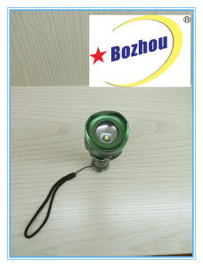 Rechargeable Flashlight Zoomable Brightest Multifunction Torch pictures & photos