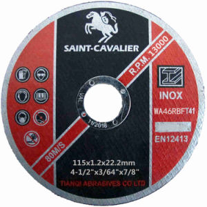 Ultra Thin Cutting Disc 115X1.2X22.2 pictures & photos
