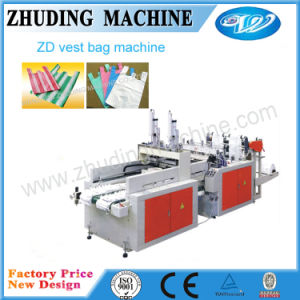 High Speed Plastic Shopping Bag Making Machine pictures & photos