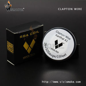 Vapor Tech Stainless Steel Wire Mesh Resistance Clapton Wire Hot Sale Clapton Wire E Vape