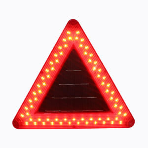 Safety Warning Triangle Reflector Emergency Road Flasher Solar 69LED Caution Light pictures & photos