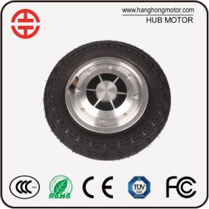 Electric Brushless DC Hub Motor for Hoveboard with Solid Tire