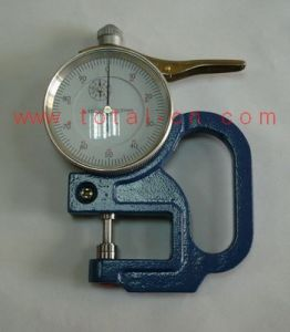 0-10mm Dial Thickness Gauge Tl03-5 pictures & photos