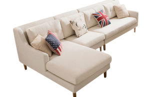 Hot Sale Northern Europe Style 1+2+3 Fabric Sofa Set pictures & photos