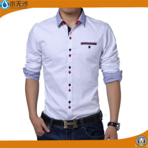 China Brand New Men Dress Shirts Fashion Casual Business Formal ... 9cfabbf2c