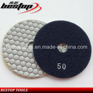 50# Flexible Diamond Abrasive Pads for Marble Dry Polishing pictures & photos