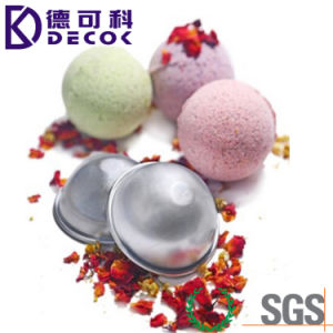 45mm 55mm 65mm Aluminum Bath Bomb Cake Pan Baking Mold Pastry Mould