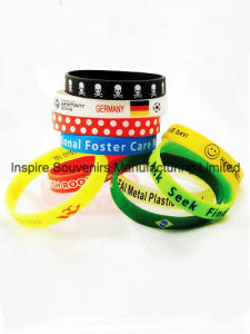 Silicone Wrist Band for Promotional Gift (BS-005) pictures & photos
