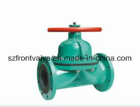 Cast Steel/Cast Iron Straight Y-Globe Diaphragm Valve pictures & photos