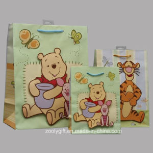 Animal Printing Paper Gift Bags with 3D Shaped Tiger / Bear / Pig pictures & photos