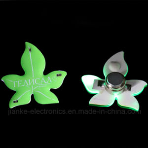 Green LED Light up Magnet with Logo Printed (3161)