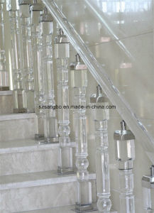 Glass Handrail/Glass Staircase/Glass Decoration/Glass Pillar pictures & photos