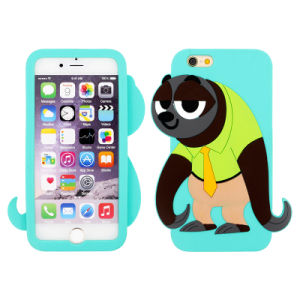 Wholesale Zootopia Sloth Flash Silicone Cellphone/Mobile Case for iPhone 5/6/6p