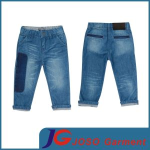 Baby Clothing Patch Jeans Fit Jeans for Girl (JC5204) pictures & photos