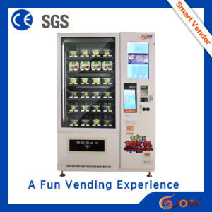 2016 Dual Rack Vending Machine for Fresh Food and Vegetable Conveyor Belt