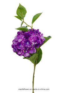 Artificial/Plastic/Silk Flower Single Stem of Hydrangea (27H8004) pictures & photos
