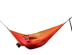 Carries Portable Lightweight Parachute Nylon Diamond Hammock