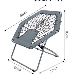 Leisure Folding Chair Outdoor Bungee Chair Spring Chair Cy 332