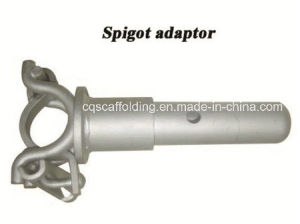 Hot DIP Galvanized Spigot Adaptor for Ringlock Scaffolding and Construction Equipment (CQG-RL)