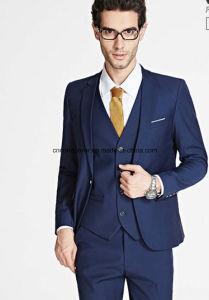 fa750f520 Navy Blue Slim Fit Office Uniform Business Coat Pant Suit