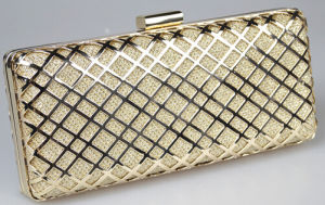 Sequins Ladies Lingge Evening Clutch Party Hand Bag (XW790) pictures & photos
