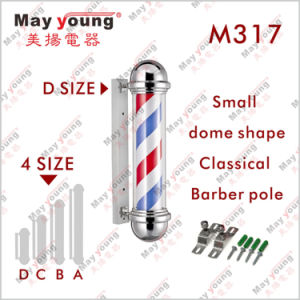 Factory Supply Ce RoHS Rotating Stripe Lighting Barber Shop Pole pictures & photos